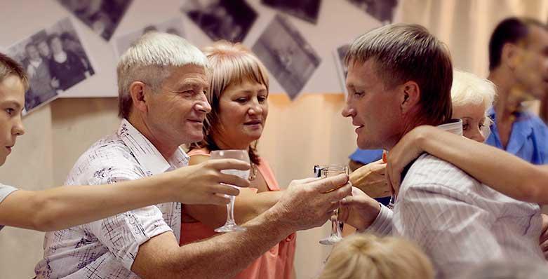 Наши гости отмечают Юбилей в зале На Фабрике в Ярославле
